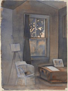 RITA ANGUS The Artist's Studio (c.1962)