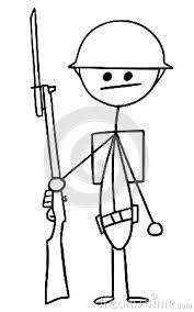 Image result for soldier ww1 clipart