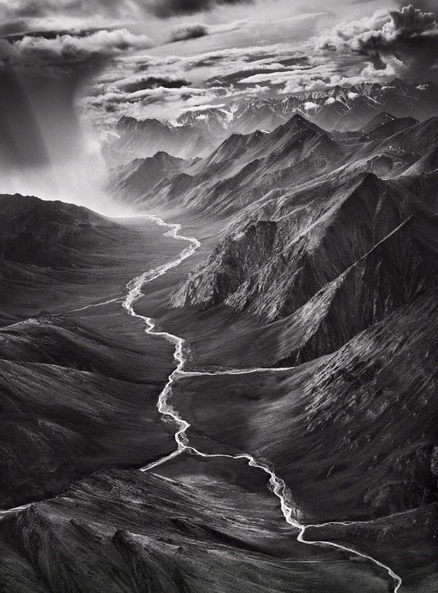 Famous black and white landscape photographers
