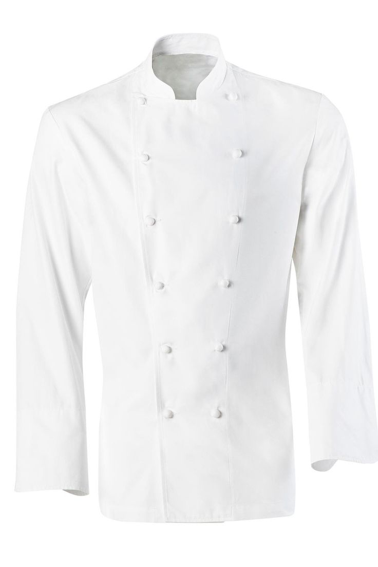 La Chaqueta Grand Chef de Bragard dispone de dos hileras de botones forrados blancos, cuello tipo mao, y mangas acabadas en punto redondo para poderse doblar. La espalda está ligeramente entallada y dispone de aireadores bajo el brazo. Es la prenda utilizada por los grandes Chefs de nuestro país. Tejido de gran confort para los usuarios, ya que es 100% Algodón. #MasUniformes #RopaLaboral #UniformesDeTrabajo #VestuarioOnline #Bragard