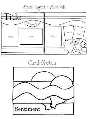 Kiwi Lane - April Sketch