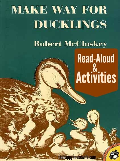 31 Days of Read-Alouds: Make Way for Ducklings   The Happy Housewife