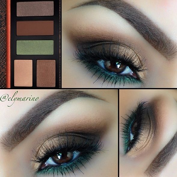 Pretty eyes and brows :)
