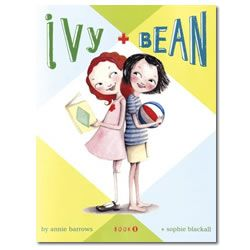 Ivy and Bean novel- By Annie Barrows, Illustrated by Sophie Blackall  The moment they saw each other, Bean and Ivy knew they wouldn't be friends. But when Bean plays a joke on her sister Nancy and has to hide quick, Ivy comes to the rescue, proving that sometimes the best of friends are people never meant to like each other. Vibrant characters and lots of humor make this a charming and addictive introduction to Ivy and Bean.