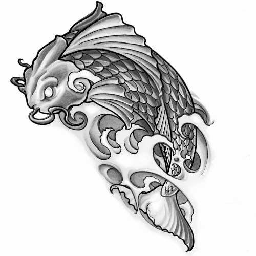 Koi fish tattoo stencils koi tattoo pinterest koi for Koi fish stencil
