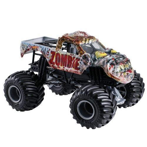 1 24 Hot Wheels Zombie Truck Monster Trucks Hot Wheels Monster Jam