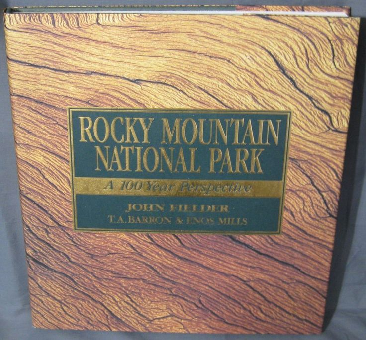 Rocky Mountain National Park John Fielder 1995 Illustrated 1565791231 | eBay