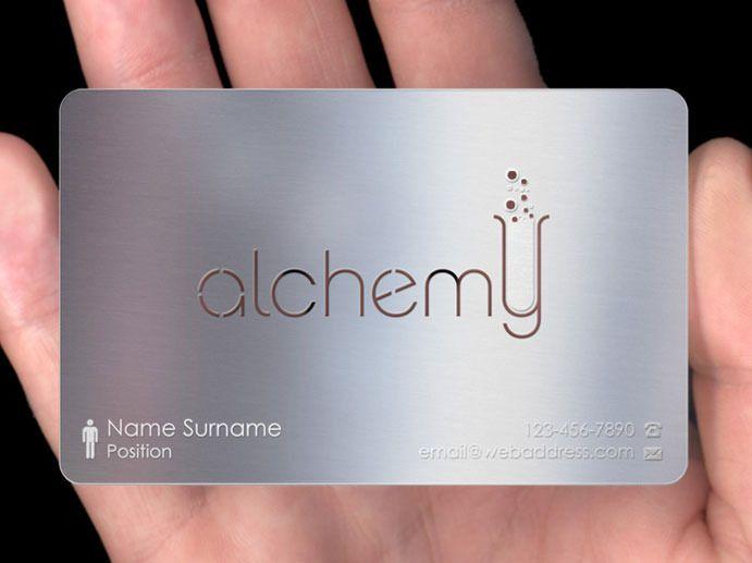 Metal Business Cards? - PlasmaDesign