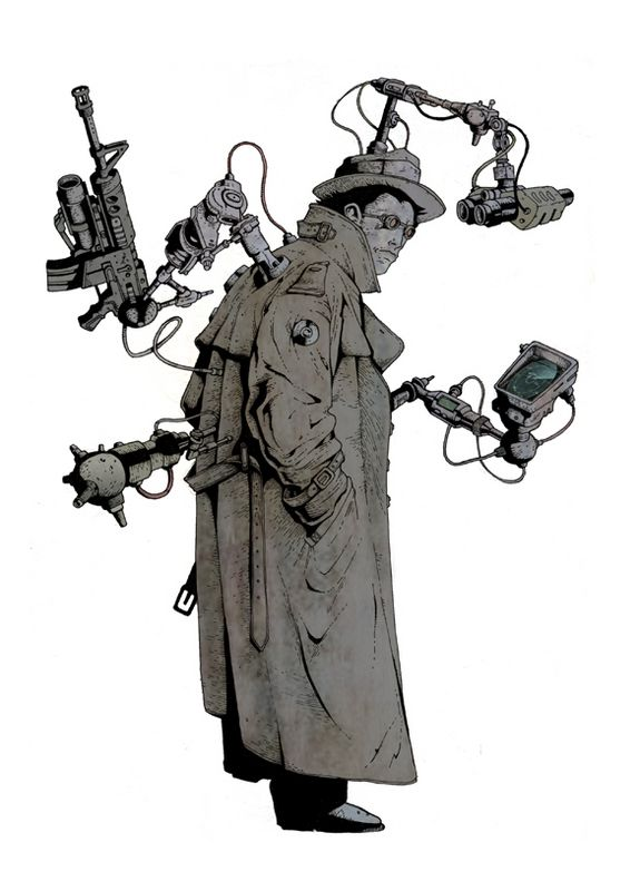 Inspector Gadget re-imagined