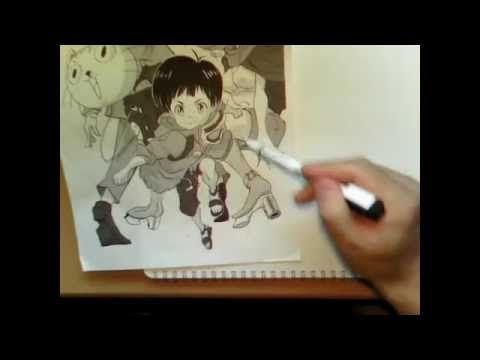 アニメーター 室井康雄 さんの「一番早く絵が上手くなる方法」|萌えイラスト上達法! お絵かき初心者の学習部屋
