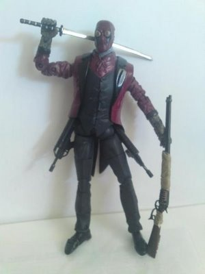 toycutter: Steampunk Deadpool action figure (Marvel Comics)