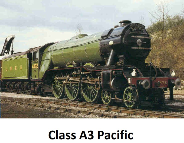 The ever infamous Flying Scotsman.