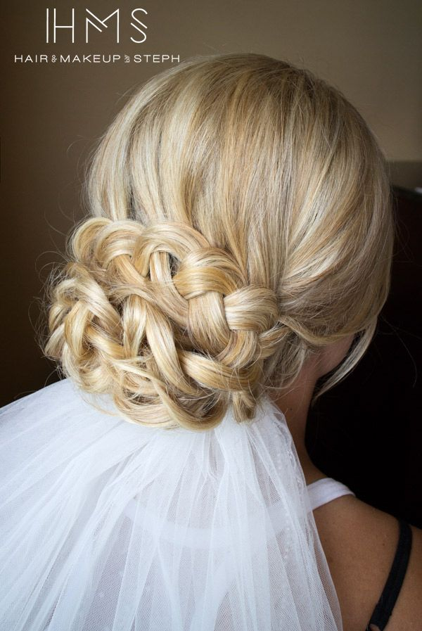 ~ we ❤ this! moncheribridals.com ~ #weddinghair #bridalhair #weddingupdo