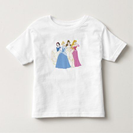Four Princesses Disney Toddler T-shirt - tap to personalize and get yours