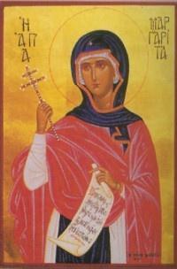 IMG ST. MARGARET of Antioch