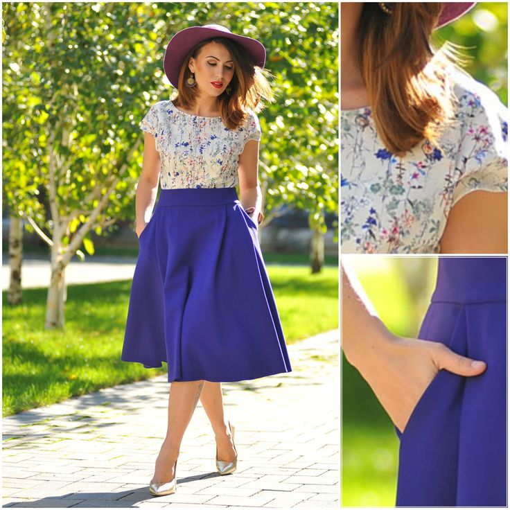 Passion for fashion #colorsoflove #blueskirt #neverfeelingblue #love #streetfashion