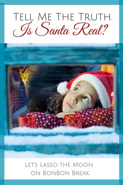 Tell Me The Truth.  Is Santa Real? --- this is a must-read for all parents. The question WILL come and now you will be prepared.