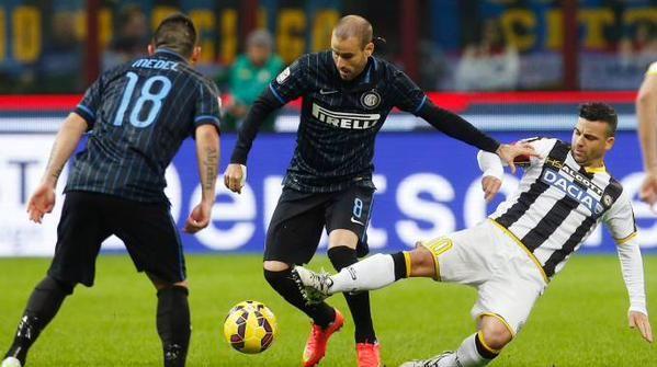 Udinese-Inter 2015, formazioni orari diretta tv streaming anticipo Serie A