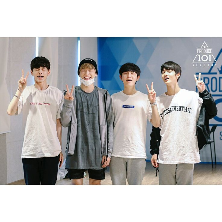 Ong, Daniel, Jaehwan, Jinyoung