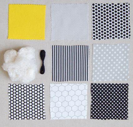 Stuffed penguin pattern