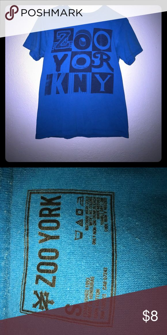 Zoo York shirt Blue Zoo York shirt size small. Great condition. Zoo York Tops Tees - Short Sleeve