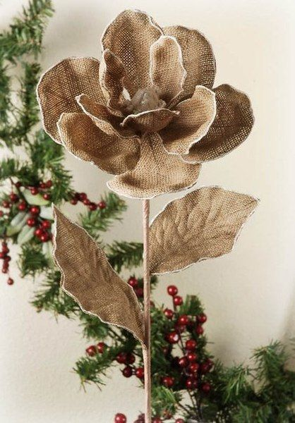 Из мешковины можно сделать массу замечательных вещей!   #Abbigli #хендмейд #подарки #рукоделие #хобби #креатив #handmade #идея #вдохновение #своимирукам