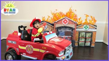 Fireman Sam Surprise Toys Collection Opening! Fire Engine Truck for Kids Rescue Spiderman http://video-kid.com/20843-fireman-sam-surprise-toys-collection-opening-fire-engine-truck-for-kids-rescue-spiderman.html  Fireman Sam Surprise Toys Collection Opening with Ryan ToysReview!  Fire Engine Truck for Kids where Kids can pretend play as Ryan dress in Fireman Sam Costume! The Fire station, Doctor Office, and The Hospital were on fire. Fireman Sam puts out the fire and rescue Spiderman, Batman…