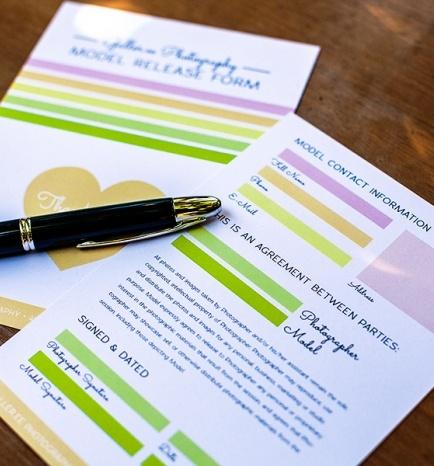Happy Contracts: Model Release Form | Galler.ee