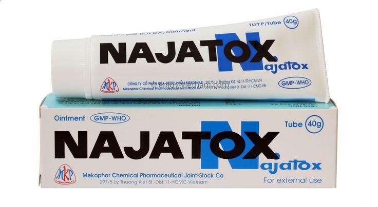 Najatox -  another Snake Venom Gel