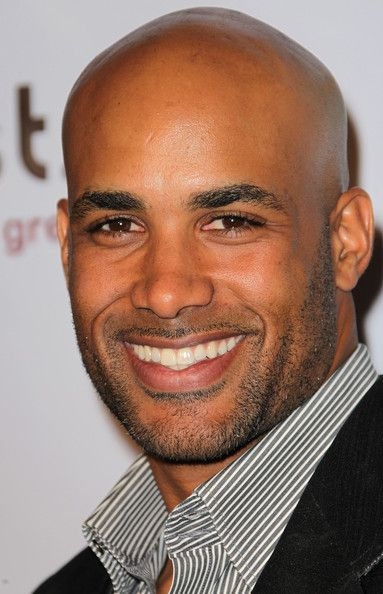 Boris Kodjoe - those eyes, bald head, that gorgeous smile and, and, and...OH Dang, its everything!