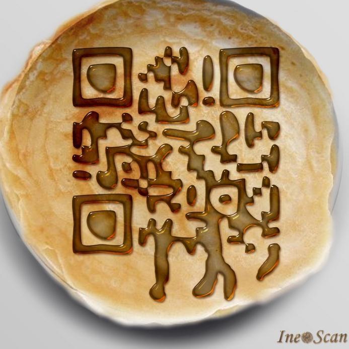QR Code Pancake...