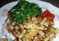 Dit recept is ingezonden doorMaitrie. Rijst met oerdi oker en amsoi. Heerlijke groenten gecombineerd met oerdie en rijst. Zelf kan je indien dat gewenst is een vis of vlees soort erbij toe voegen! Ingrediënten: - 2 cup surinaamse oerdi - 1 ui - 2 peper...