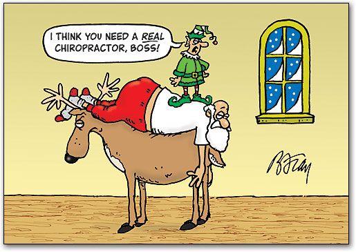 Even Santa needs #Chiropractic care!