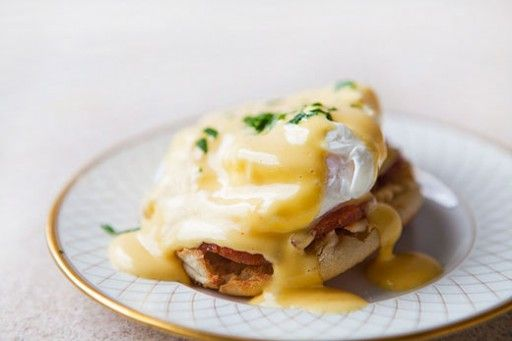 Culy's favourit Eggs Benedict