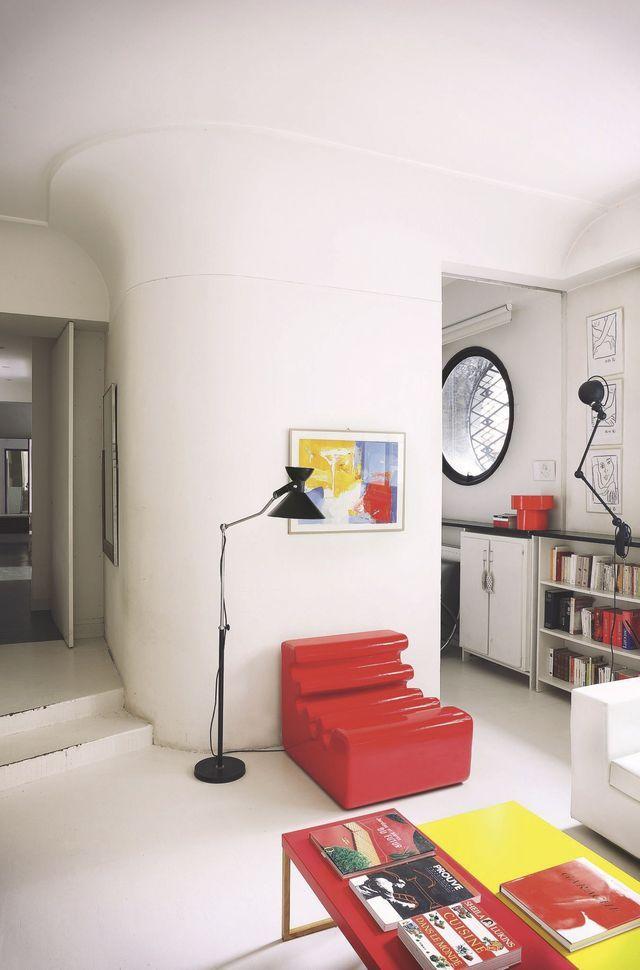 Un fauteuil design pour égayer la maison Plus de photos sur Côté Maison : http://petitlien.fr/897a