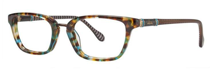 Lilly Pulitzer TRURO Aqua Tortoise Eyeglasses Size49-18-135.00