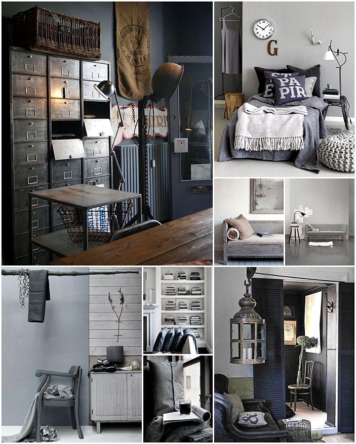 small pinterest summary of shades of gray mood pinterest wandfarbe wohnzimmer und wohnen. Black Bedroom Furniture Sets. Home Design Ideas