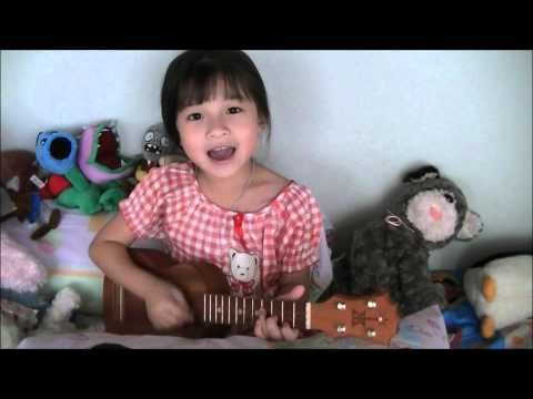 ▶ Lazy Song ( Bruno Mars ) Ukulele Cover by Gail Sophicha who is only 6!! Ukulele for kids.  - YouTube