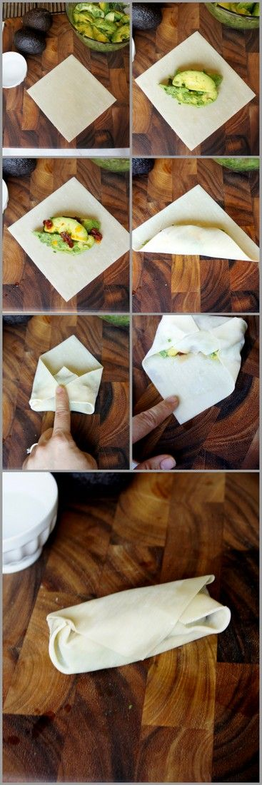 Avocado Egg Rolls with Creamy Cilantro Ranch Dip - I Wash You Dry