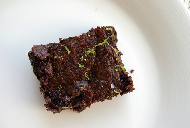Brownie with Lime and Sea Salt: Sea Salts