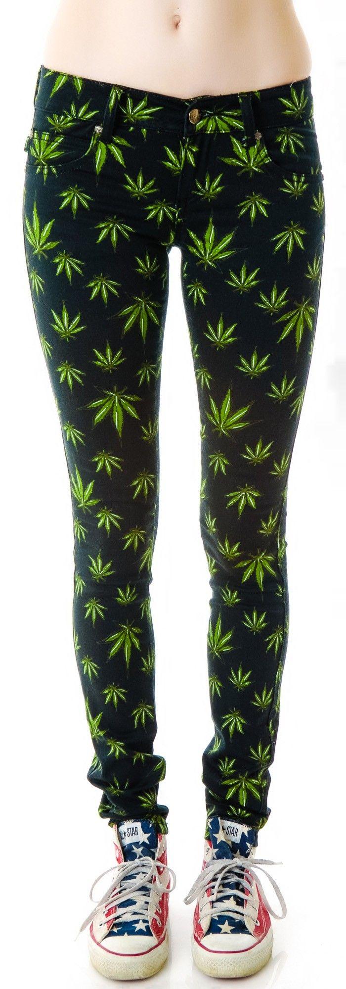 Tripp NYC Smoke Grass Skinny Jeans | Dolls Kill