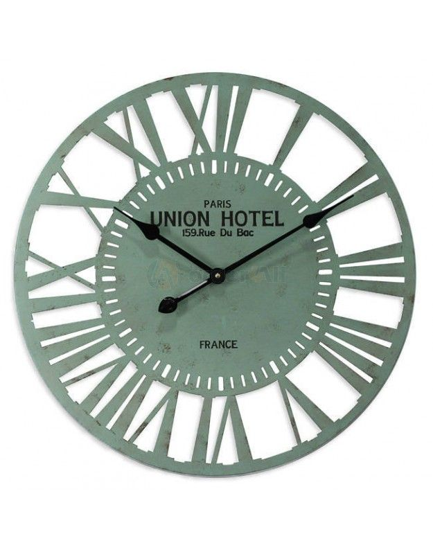 "Metallic Wall Clock ""UNION"" 60 cm"