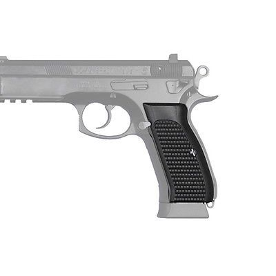 Other Hunting Gun Smithing 177883: Hogue 75139 Cz-75/Cz-85 Grips Piranha G-10 Solid Black BUY IT NOW ONLY: $71.02