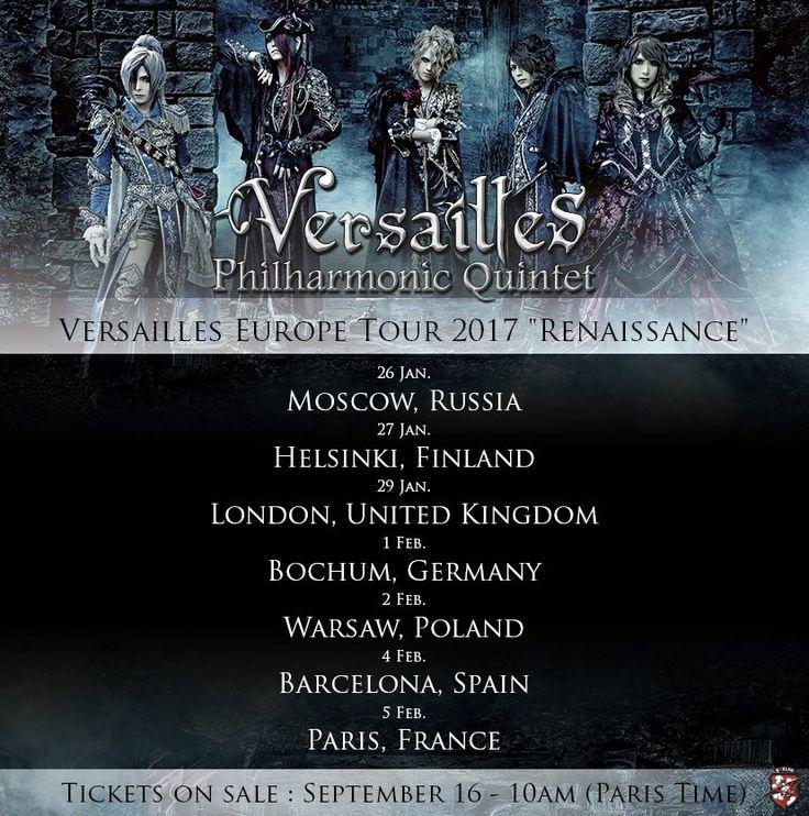 Era il 28 Dicembre 2015 quando i Versailles fecero la loro prima apparizione dopo essersi presi una lunga pausa iniziata nel 2012. Nonostante i cinque membri avessero continuato con altre attività,…