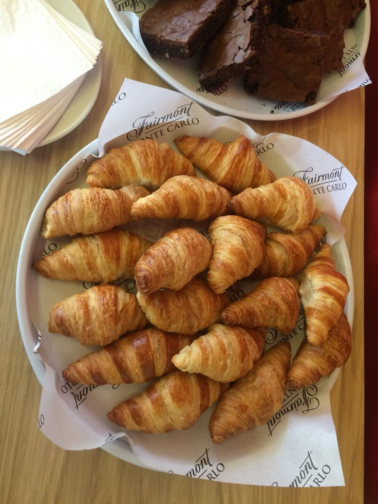 #brownies and #croissants from our cafe. Monaco Pavilion is ready to please all your wishes. #Expo2015
