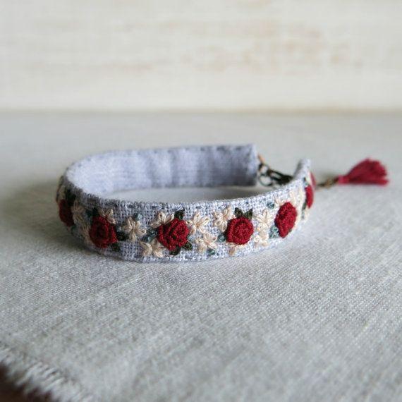 1000 id es sur le th me bracelets en tissu sur pinterest. Black Bedroom Furniture Sets. Home Design Ideas