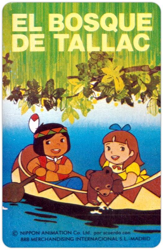 El bosque de Tallac, esto creo que eran cartas para jugar