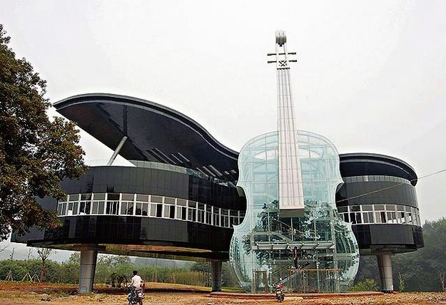 The Piano House — Anhui, China | 21 Of The Strangest And Most Unique Buildings From Around The World