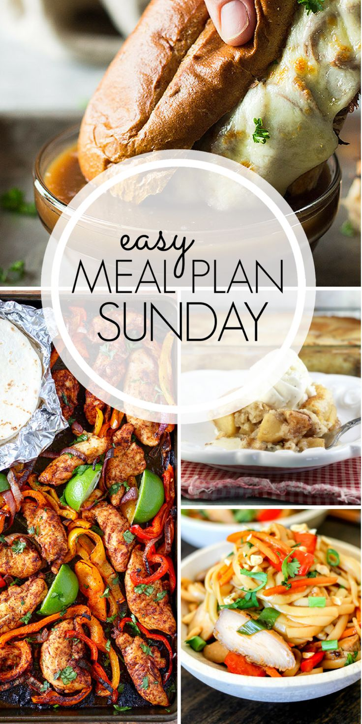 With Easy Meal Plan Sunday Week 95 - six dinners, two desserts, and a breakfast recipe will help you get the week's meal planning done quickly. Enjoy them!