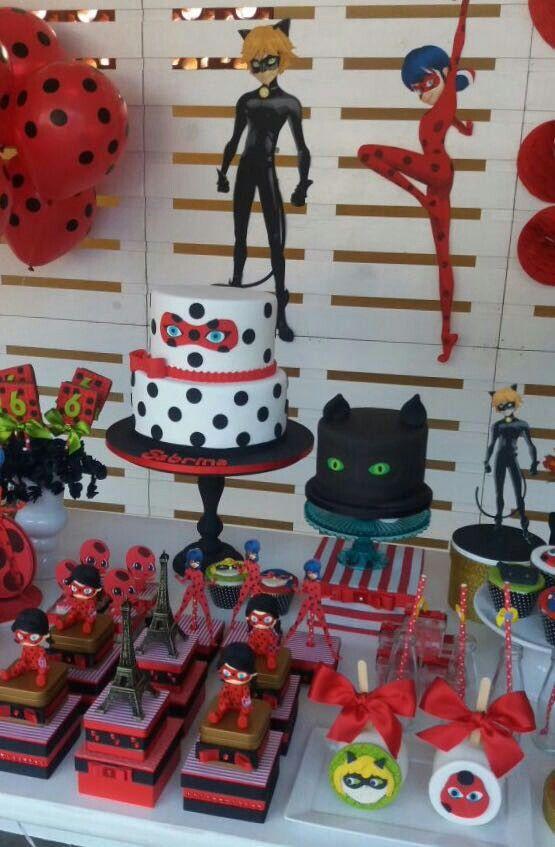 Festa de  LuanaSigueira  Miraculous Ladybug